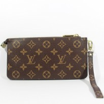 HANDBAG CLUTCH TAS PRIA IMPORT | LOUIS VUITTON LV HBT MONO BROWN