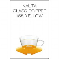Kalita Glass Dripper 155 (Yellow)