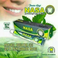 PASTA GIGI NASA Whitening Tooth Paste NASA ODOL PERAWATAN PEMUTIH GIGI BEST SELLER