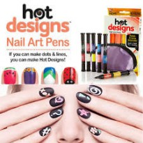 HOT DESIGN - Nail Art Brush & Pen