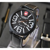 Swiss Army Victorinox Set Leather Kulit New Model