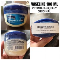 [ 100 ML ] VASELINE 100 ML Petroleum Jelly