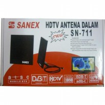 Antene dalam rumah antenna in door TV led lcd Sanex sn 711 hdtv VHF UH