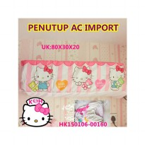 COVER AC HELLO KITTY