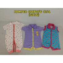 Romper CARTERS 3in1 - MIX MODEL (GIRL)