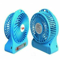 Kipas Angin Mini Fan Portable Angin Super ( Recharger / Emergency )