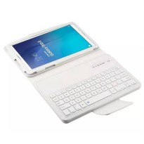 [globalbuy] Removable Bluetooth Keyboard Stand PU Leather Case Cover For Samsung Galaxy Ta/3706684