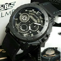 Jam Tangan Balmer B-7935 Pria Black Leather Black Original