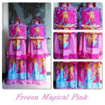 Mukena Anak Frozen Magical Pink