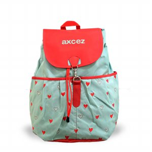 Tas ransel axcez lovely green red all