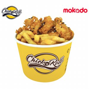Fries & Chicken Bites Chick'nRoll Special 12.12 - Dapat di Redeem di 10 Cabang