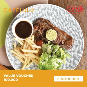 Café Lulu Value Voucher 100K