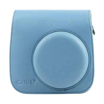 Godric Leather Case for Fujifilm Kamera Instax Mini 8 dan 9 - Biru