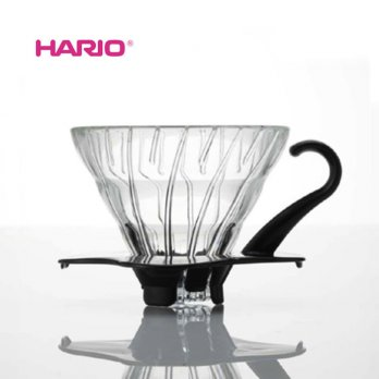 Hario V60Hario V60 VDG-01B Glass Coffee Dripper Black