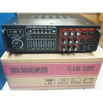 power mixer 4 channel elsem usb sd
