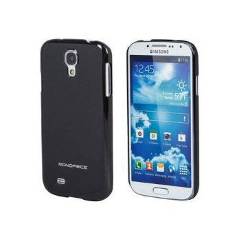 [holiczone] Monoprice 110490 Air Case for Samsung Galaxy S4 - Retail Packaging - Black/164107