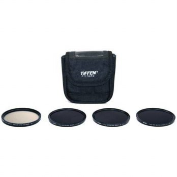 [holiczone] Tiffen Filter Kit for Cameras - 77MM INDIE PLUS HV KIT/95319