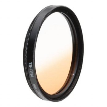 [holiczone] Tiffen 49mm Graduated Sunrise Filter/97154