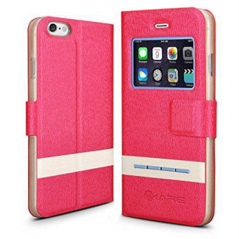 [holiczone] IKare iPhone 6 Case - iKare [Fluoresce & Scent Series] Smart Window View Touch/102990