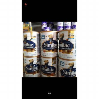 Susu similac gain plus 1 sd 3 th 850gr