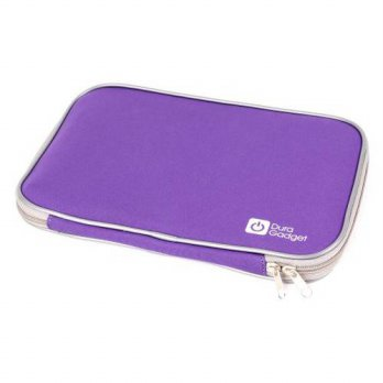 [holiczone] DURAGADGET Purple Travel Water Resistant & Shock Absorbent Neoprene Case With /103574