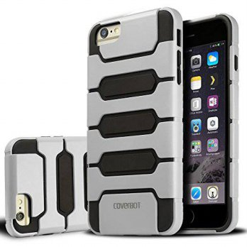 [holiczone] iPhone 6 Case, CoverBot iPhone 6 Skellter Slim Case WHITE (Compatible with 4.7/303380