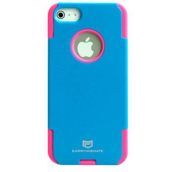 [holiczone] Carryingmate Industries USA CMT30063 Double Square Case for iPhone 5 - 1 Pack /304065