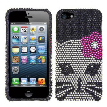[holiczone] Asmyna IPHONE5HPCDM188NP Luxurious Dazzling Diamante Bling Case for iPhone 5 -/299502
