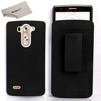 [holiczone] LG G3 Vigor Case, LG G3 Vigor Holster case, SGM (TM) Shell Holster Combo Prote/305335