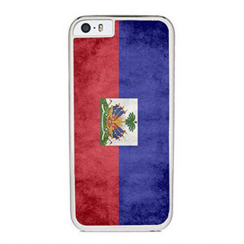 [holiczone] Insomniac Arts - Flag of Haiti, Haitian - Case for iPhone 6 Plus, White Plasti/310367