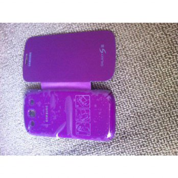[holiczone] IDS Leather Pouch Flip Case Cover for Samsung Galaxy S3 III i9300, Purple/314862