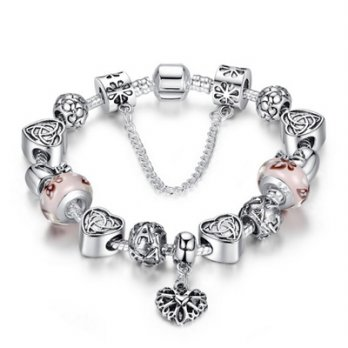 Pandora Sterling Silver beaded bracelet element glass beads female accessories boutique 73bq2 [Milan