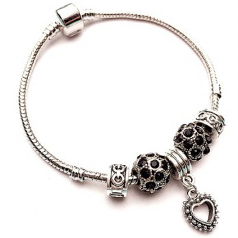 Beaded bracelet Pandora Sterling Silver Love Pendant elements temperament wild female accessories bo