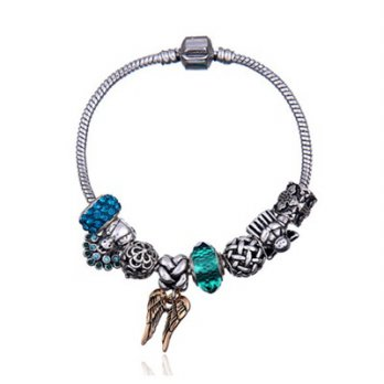 Pandora Bracelet 925 sterling silver crystal beaded elements meticulous cute female accessories bout