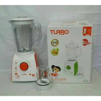 Blender Turbo EHM 8099 Jar Plastik + Dry Mill