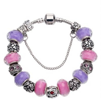 Pandora Bracelet 925 sterling silver glass bead element female accessories boutique 73bn101 [Milan]