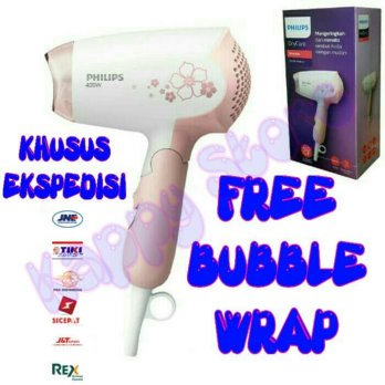 Terbaik Hair Dryer Philips HP8108 HP 8108 - 400 watt Pink Fk676