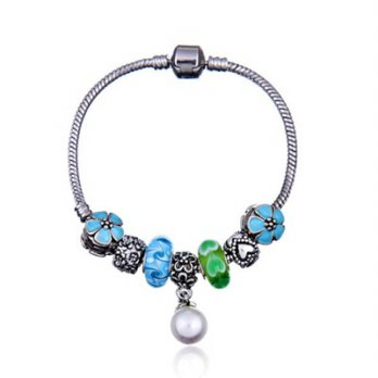 Pandora Sterling Silver beaded bracelet element fresh glass design female accessories boutique 73bn8