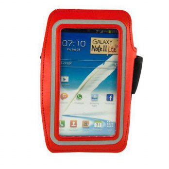 [holiczone] Fulland Reflective SAFETY Strip Sports Gym Armband Case Cover For Samsung Gala/319206