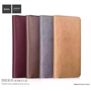 Hoco Leather Wallet / Dompet Kulit Pria Travel Wallet