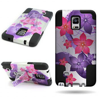 [holiczone] For Samsung Galaxy Note 4 Hybrid Case, By CoverON Dual Layer Hybrid Full-body /232366