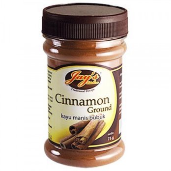Jays Cinnamon Ground (Kayu Manis Bubuk) 75g