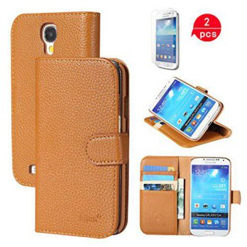 [holiczone] AILUN Galaxy S4 Case,[2PCS HD Screen Protectors] by Ailun,Wallet Case,Galaxy i/238452