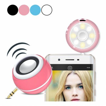 Beauty Speaker + Lampu Selfie Lamp 2 in 1 | Beauty Selfie Lamp Disko Disco Speaker LED Lampu Selfie
