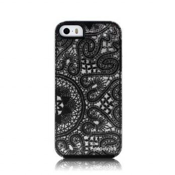 [holiczone] Prodigee 2IN1 Ultra Slim LACE Back Case + Black Silicone Bumper for Apple iPho/248129