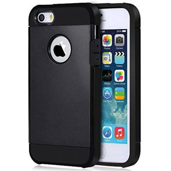 [holiczone] iPhone 5S Case - Noot Basics Protector Armor Dual Layer Shock Absorbing Case f/249130