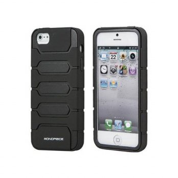 [holiczone] Monoprice 110011 Armored Case for iPhone 5 - Retail Packaging - Black/255147