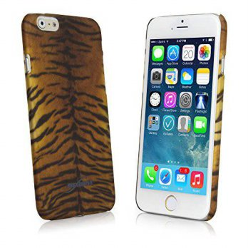 [holiczone] iPhone 6 Case, BoxWave [Fierce Case] Fashionable Animal Print Protective Shell/253591