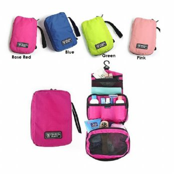 FIRSTPROJECT TAS PENYIMPANAN KOSMETIK DAN PERALATAN MANDI TRAVEL MATE TOILETRIES POUCH