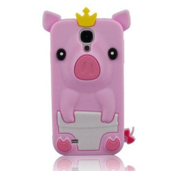 [holiczone] FashionalMy8 My8 Pink New 3D Cartoon Animal Crown Pig Deaign Silicone Gel Case/154270